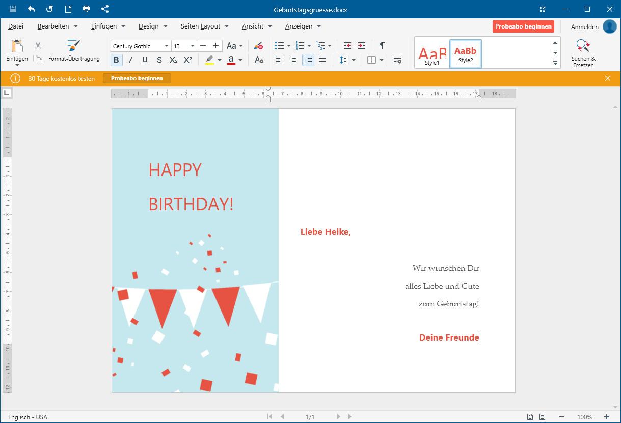 Screenshot 1 - OfficeSuite