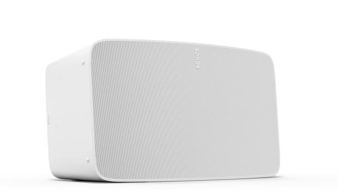 Der neue Sonos Five unterscheidet sich in der weißen Version durch die weiße Front von seinem Vorg©Sonos