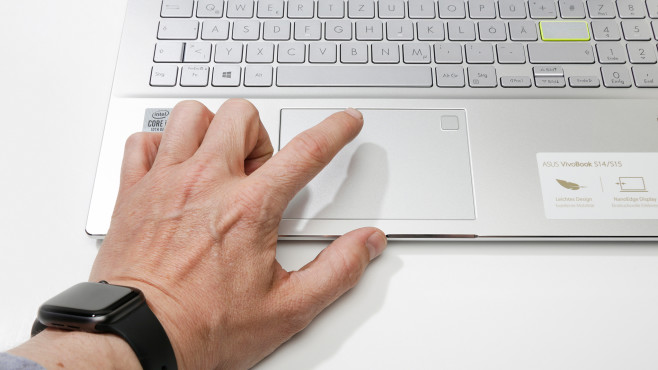 Asus Vivobook S15 2020 Touchpad©COMPUTER BILD