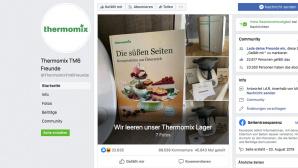 Thermomix TM6 Freunde: Facebook-Seite©Facebook