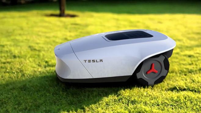 Tesla Mähroboter©Prokop Strnka