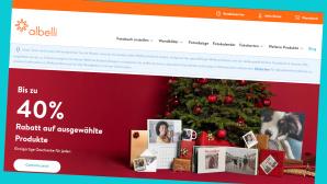 Albelli: Sparen beim Online-Fotoservice©Screenshot www.albelli.de