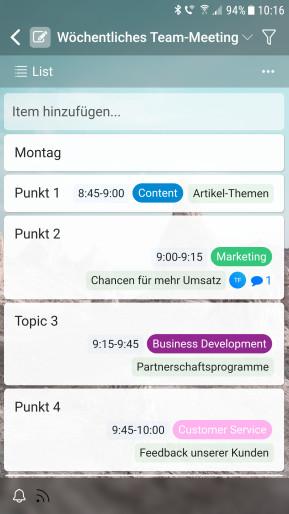 Zenkit (Android-App)