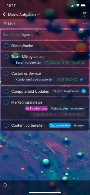 Zenkit (App für iPhone & iPad)