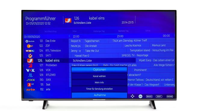 Mit einer USB-Festplatte wird der Medion Life X15515 zum Videorecorder.©Medion, COMPUTER BILD