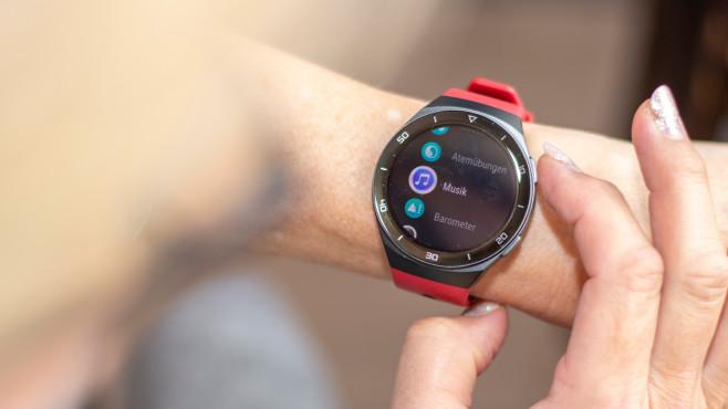 Huawei Watch GT 2e Musik-App©COMPUTER BILD