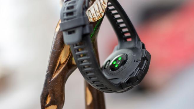 Garmin Instinct Tactical: Pulssensor©COMPUTER BILD