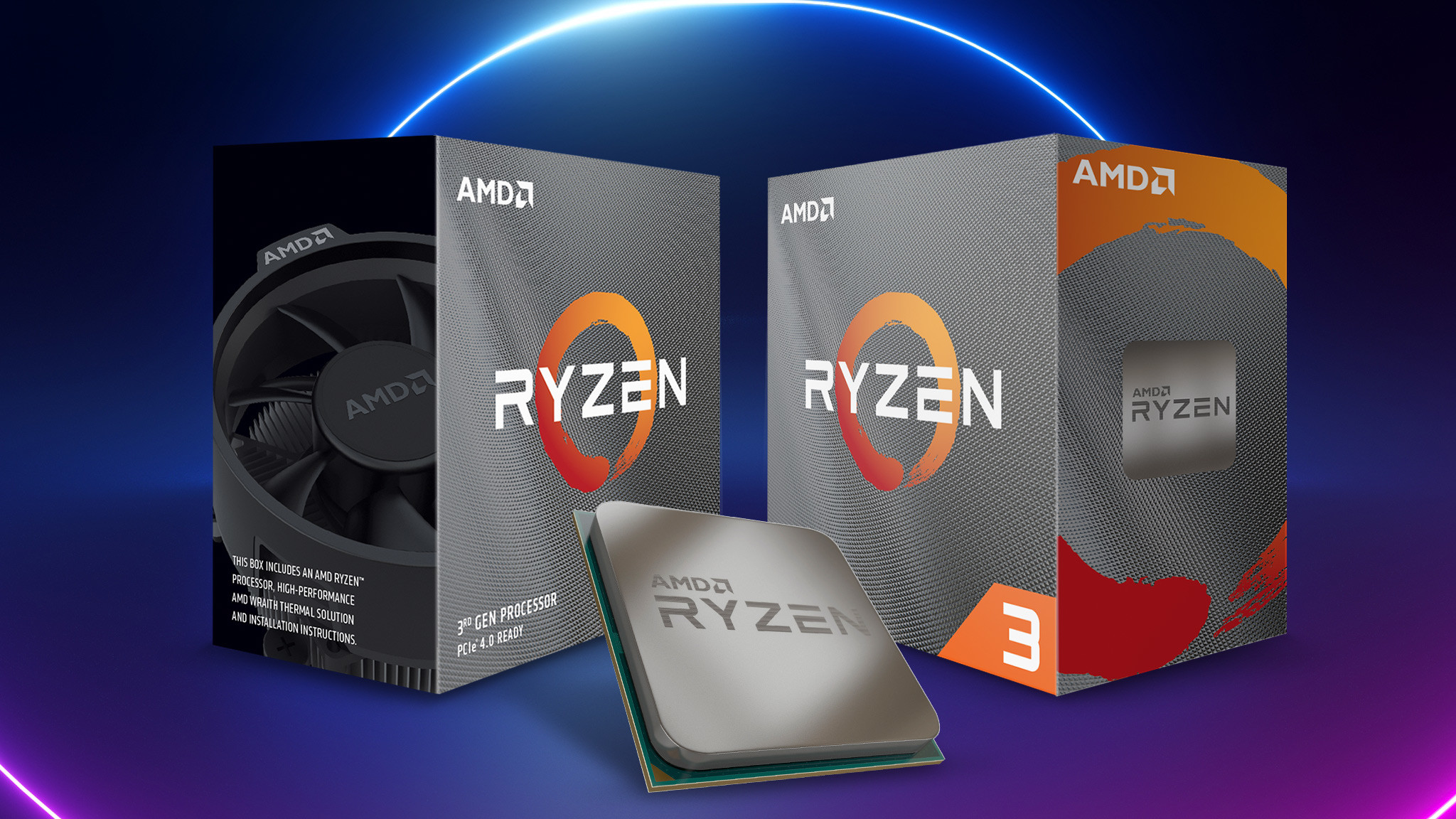 Test: AMD Ryzen 3 3300X und Ryzen 3 3100©iStock.com/wacomka, AMD