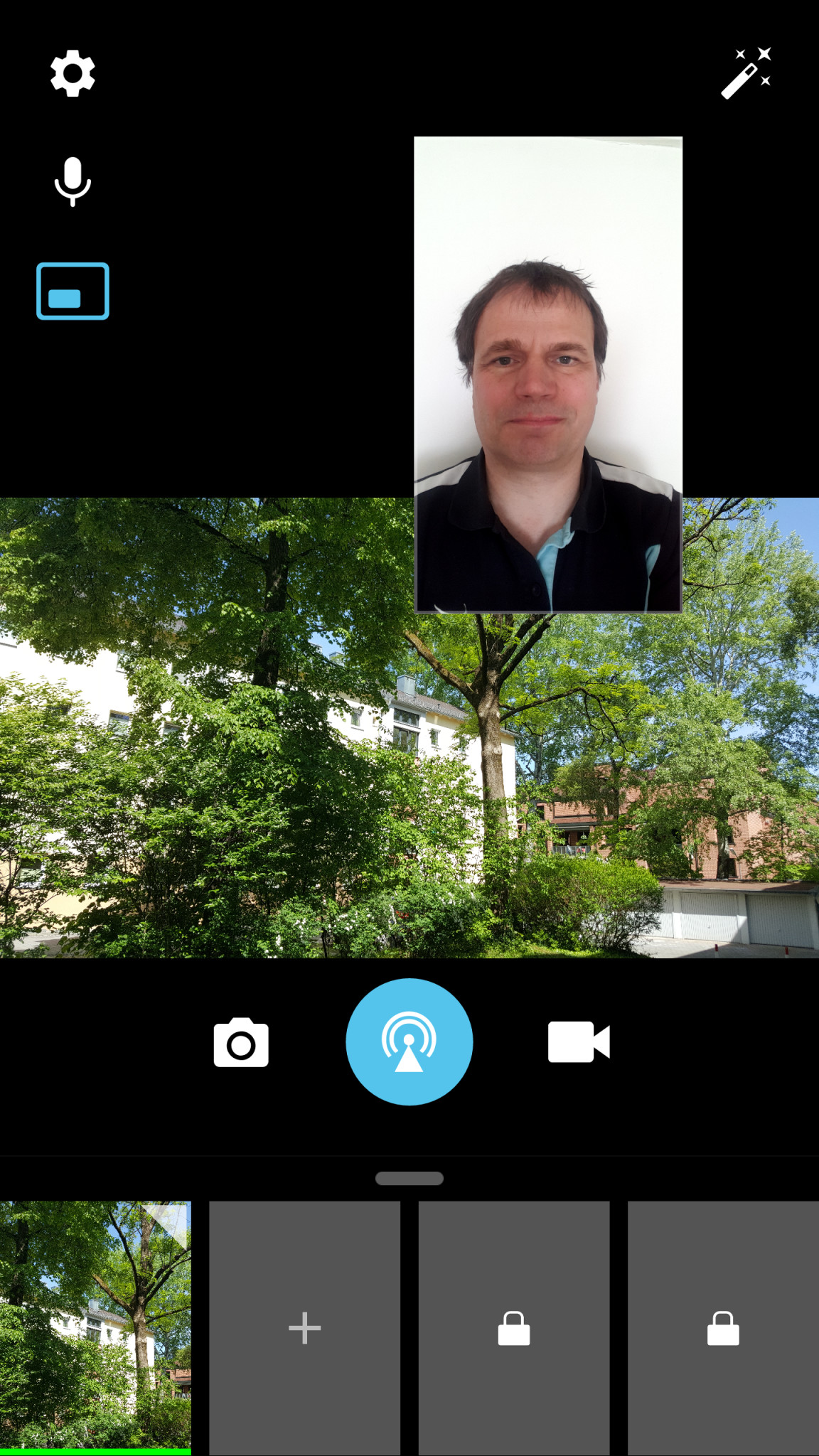 Screenshot 1 - ManyCam (Android-App)
