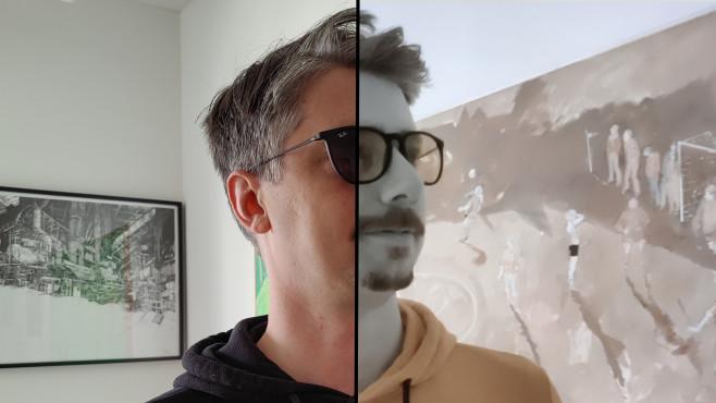 OnePlus 8 Pro: Foto von Sonnenbrille©COMPUTER BILD