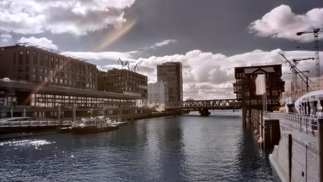 OnePlus 8 Pro: Infrarot-Foto vom Hafen©COMPUTER BILD