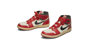 Nike Air Jordan 1s (1985)©Sotheby's