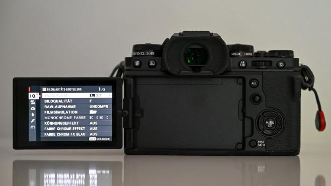 Fujifilm X-T4 Schwenk-Display©COMPUTER BILD