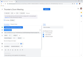 Zoom Scheduler für Chrome