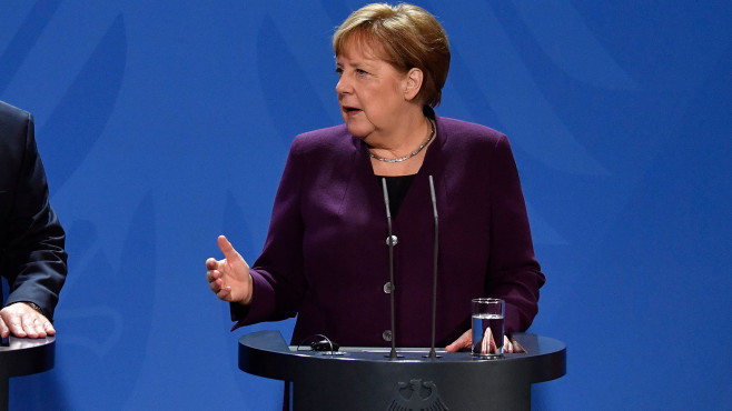Angela Merkel auf 11. Integrationsgipfel©JOHN MACDOUGALL / Getty Images