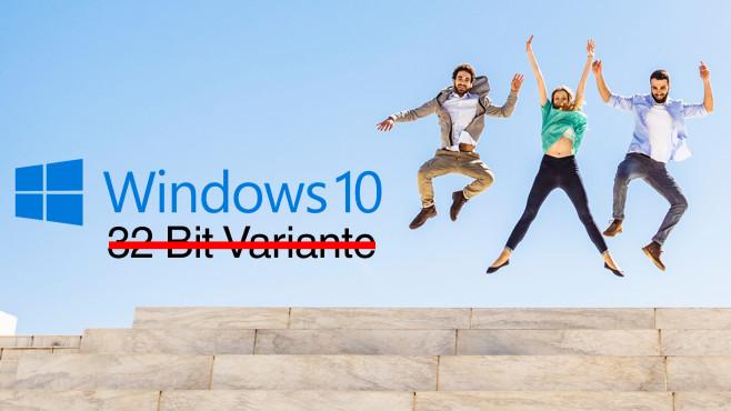 Windows 10 bald ohne 32-Bit-Version?©Bildarchiv , Microsoft