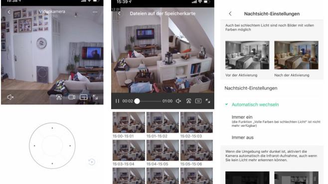 Mi-Cam, App-Steuerung©Xiaomi, Mi Home, COMPUTER BILD