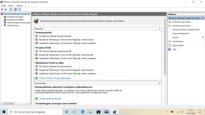 Windows Defender: Der Virenschutz im Test Für Anfänger sind die Einstellungen des Windows Defender etwas undurchsichtig.©Microsoft