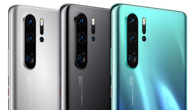 Huawei P30 Pro New Edition Farben©Huawei