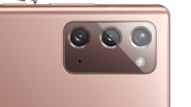 Dreifachkamera des Samsung Galaxy Note 20©Samsung