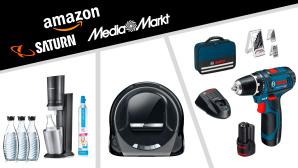 Amazon, Media Markt, Saturn: Die Top-Deals des Tages!©Amazon, Media Markt, Saturn, Bosch, SodaStream