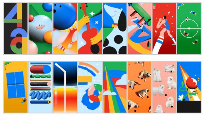 Wallpaper des Google Pixel 4a©Google / Julio Lusson / XDA-Developers