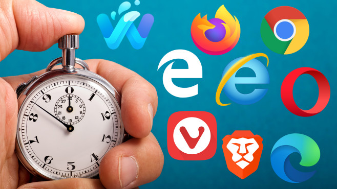Test: Der schnellste Browser – welches Programm erklimmt die Spitze? Acht Browser treten in neun Benchmarks gegeneinander an.©iStock.com/slobo