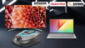 Amazon, Media Markt, Saturn: Die Top-Deals des Tages!©Amazon, Media Markt, Saturn, Sony, Asus, Gardena, iStock.com/kertlis