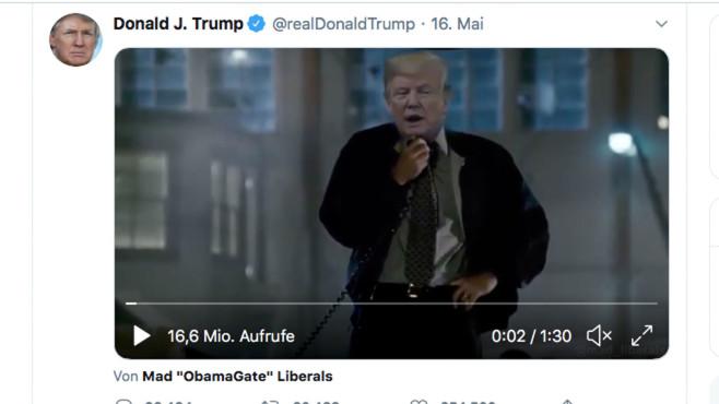 Donald Trump: Tweet©Twitter.com