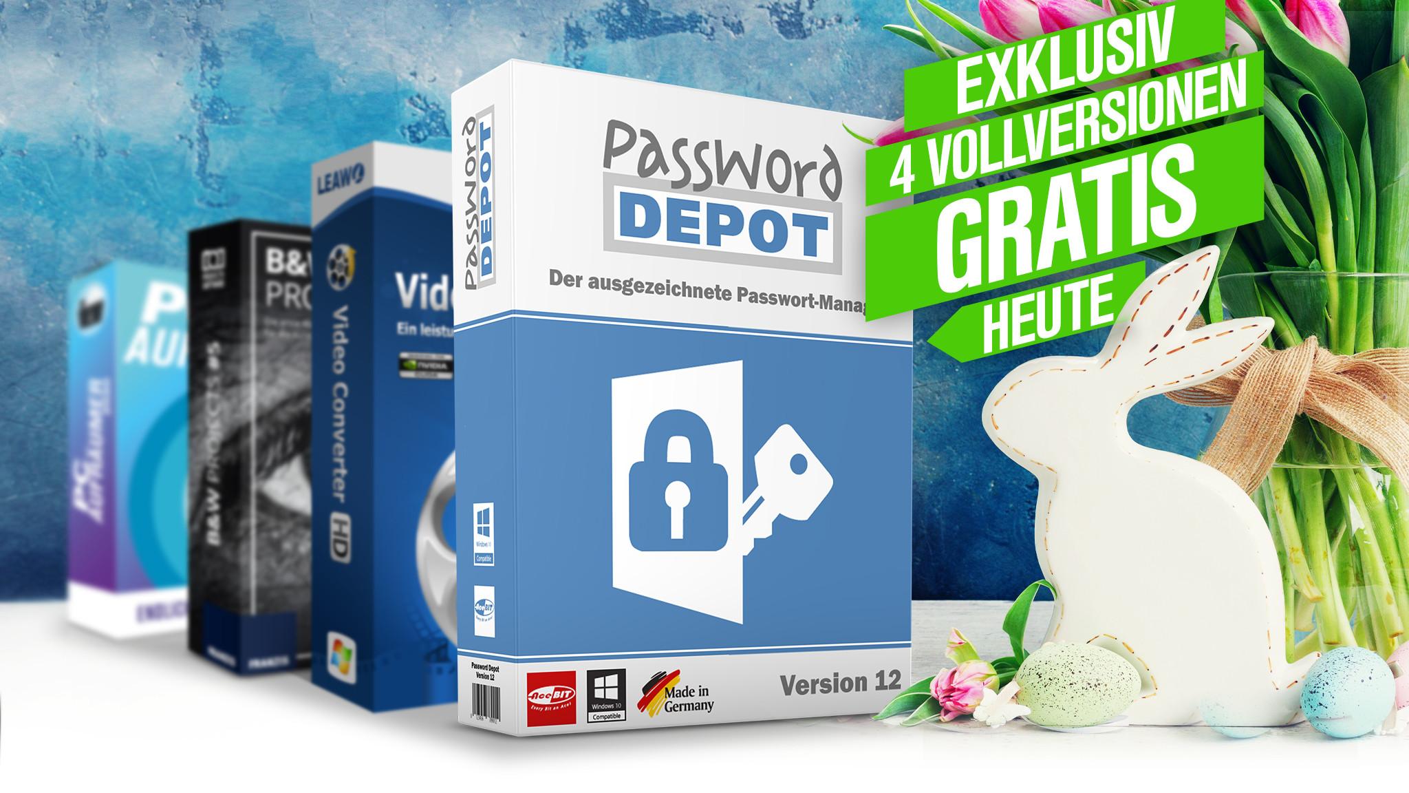 Exklusive Vollversion: Log-in-Daten sicher verwalten mit Password Depot 12©iStock.com/neirfy