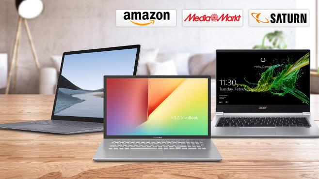 Amazon, Media Markt, Saturn: Die Top-Deals des Tages!©Amazon, Media Markt, Saturn, Asus, Acer, Microsoft, iStock.com/asbe