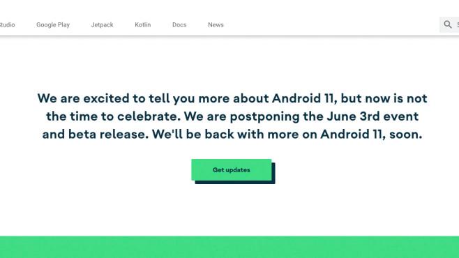 Kein Android 11 Beta Launch am 3.6.©Screenshot: COMPUTER BILD