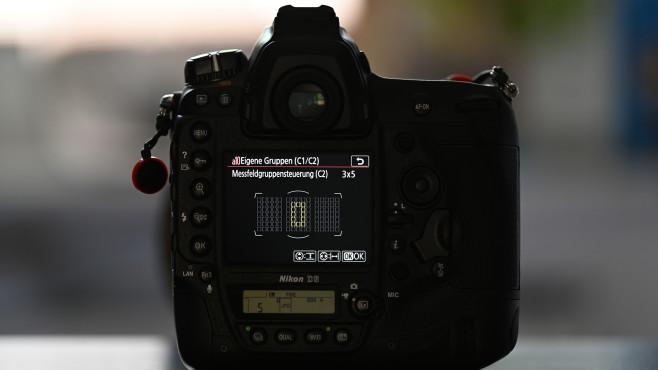 Nikon D6 AF-Einstellungen©COMPUTER BILD