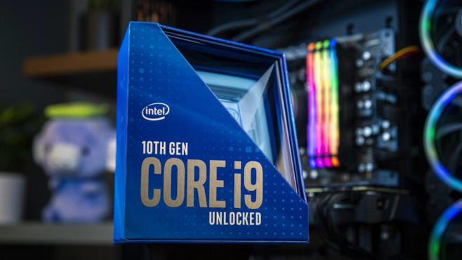 Intel Comet-Lake-S-Prozessoren©Intel