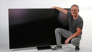 Samsung GQ75Q950T im Test: 195 Zentimeter Bilddiagonale, 8K-Auflösung, brillante Farben©COMPUTER BILD