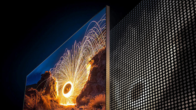 So funktioniert das Local Dimming beim LCD-Bildschirm des Samsung Q950T.©COMPUTER BILD