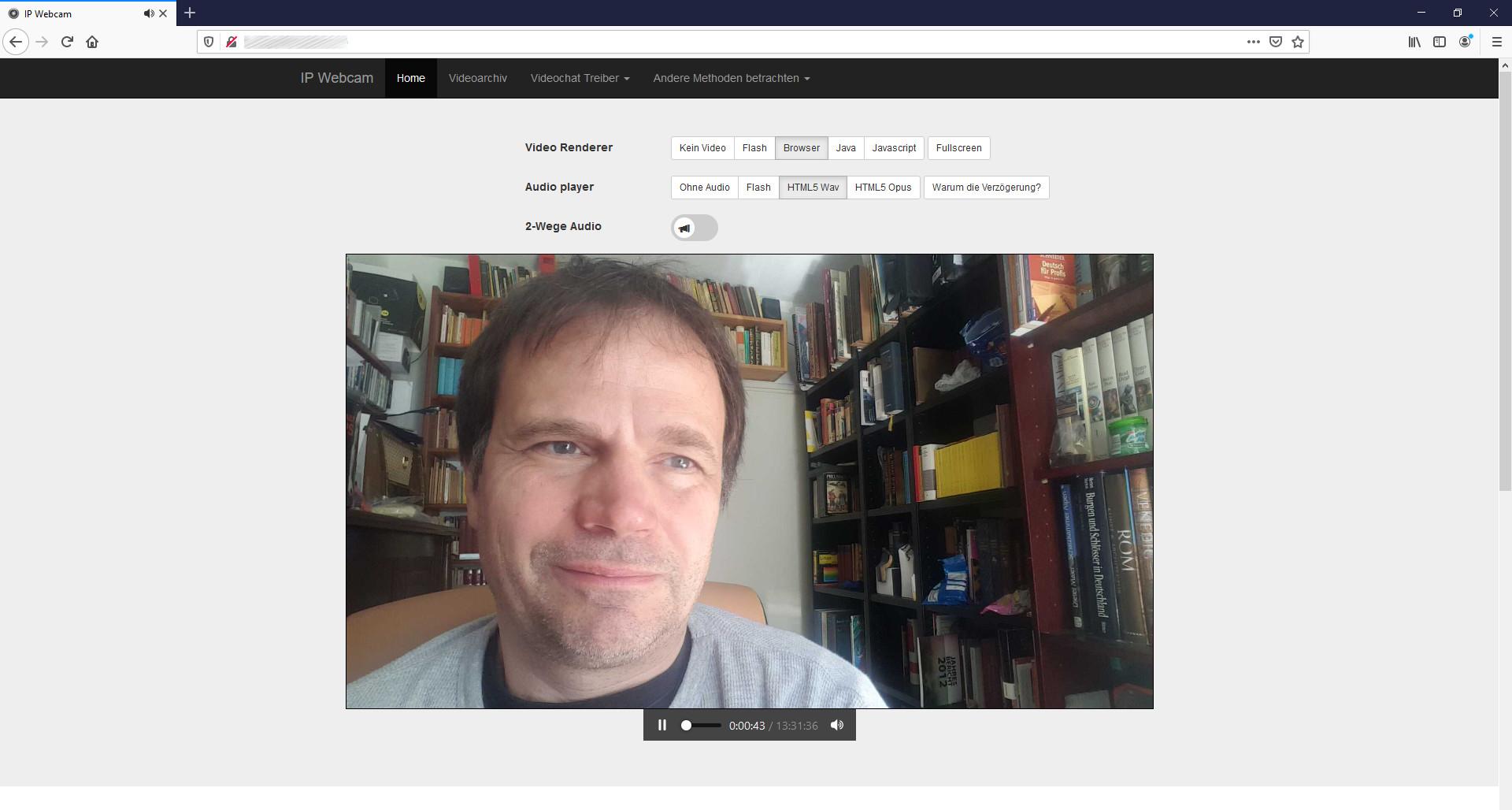 Screenshot 1 - IP Webcam (Android-App)