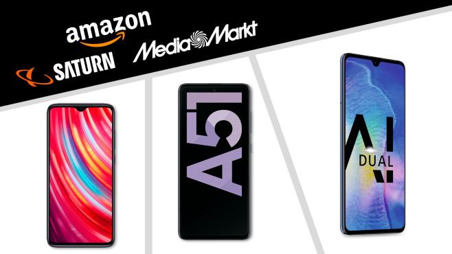 Amazon, Media Markt, Saturn: Die Top-Deals des Tages!©Amazon, Media Markt, Saturn, Huawei, Samsung, Xiaomi