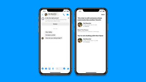 Facebook: Neues Sicherheitsfeature f�r den Messenger © Facebook