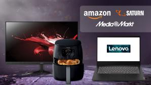 Amazon, Media Markt, Saturn: Die Top-Deals des Tages!©Saturn, Media Markt, Amazon, Acer, Lenovo, Philips