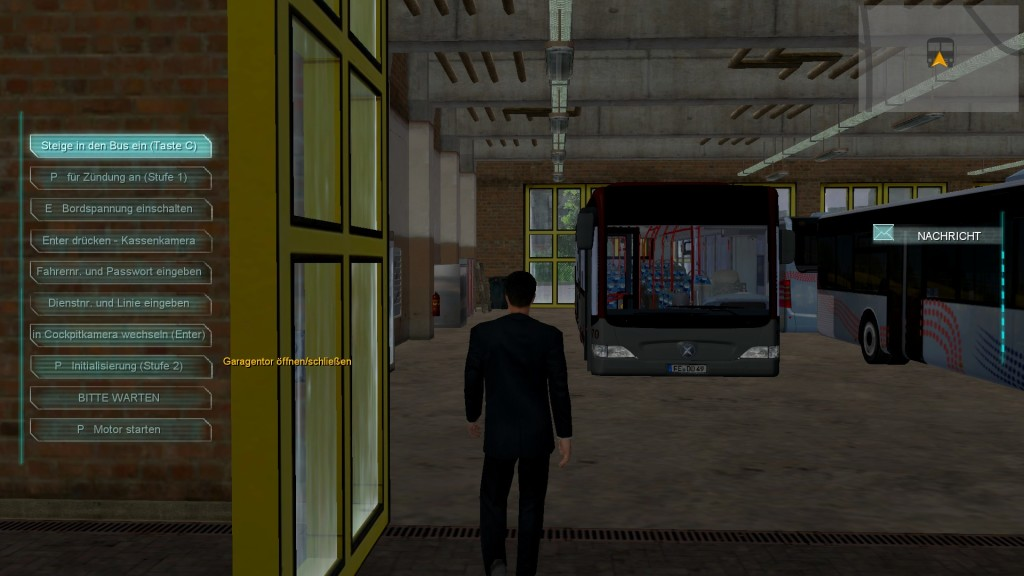 Screenshot 1 - Bus-Simulator 2012