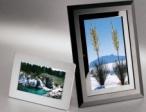 Digitale Bilderrahmen gibt es in verschiedenen Gr��en und unterschiedlichen Formaten.