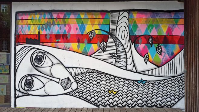 Realme 6: Foto Grafiti-Kunst©COMPUTER BILD