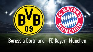 Bundesliga: BVB – FCB©Borussia Dortmund, FC Bayern München, iStock.com/alphaspirit