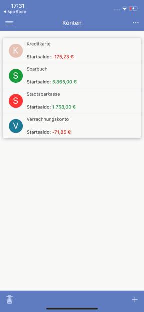 SayMoney Haushaltsbuch (App für iPhone & iPad)