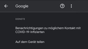 Android: Einstellungen©COMPUTER BILD