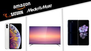 Amazon, Media Markt, Saturn: Die Top-Deals des Tages!©Saturn, Media Markt, Amazon, Samsung, Apple, TCL