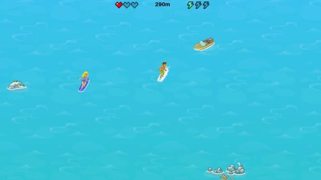 Microsoft Edge: Spielszene von Surf©Microsoft COMPUTER BILD