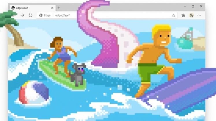 Microsoft Edge Browser surf