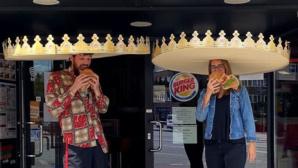 Burger King: Social-Distancing-Krone©Instagram / Burger King